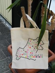 DIE Meidlinger Tasche - ein klares Bekenntnis zu Meidling mit seiner Vielfalt an BewohnerInnen, seinen vielen Gesichtern und seinem Herzstück – dem Meidlinger Markt.