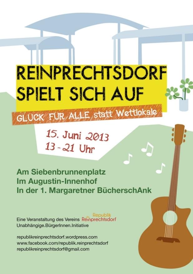 Unsere Nachbarn aus Reinprechtsdorf spielen sichauf….