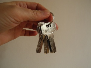 Hurra! Unsere eigenen Schlüssel für den 12er Marktstand. Unser Dank gilt Herrn Mag. Ulreich (www.ulreich.at) für seine Unterstützung.