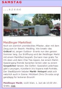Punkt 12! Veranstaltungsauftakt in der Stadtspionin  - www.stadtspionin.at