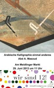 Abd A. Masoud - Arabische Kalligraphie einmal anderes