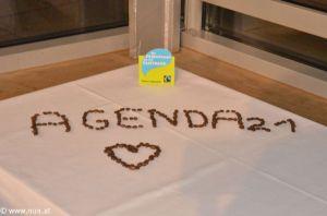 Wir sind 12! dankt der Agenda 21 für den 1. Platz bei der ZukunftsElla!