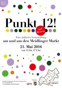 Reiseziel 1: Punkt 12! am Meidlinger Markt - 21.05.2016