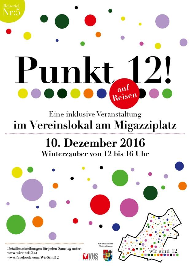 Punkt 12! auf Reisen … amMigazziplatz