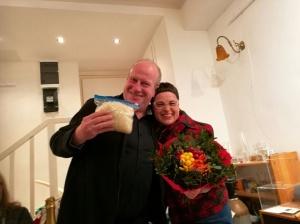 Staffelübergabe von Sabina Naßner-Nitsch (Initiatorin) an den neuen Obmann Frank Placke